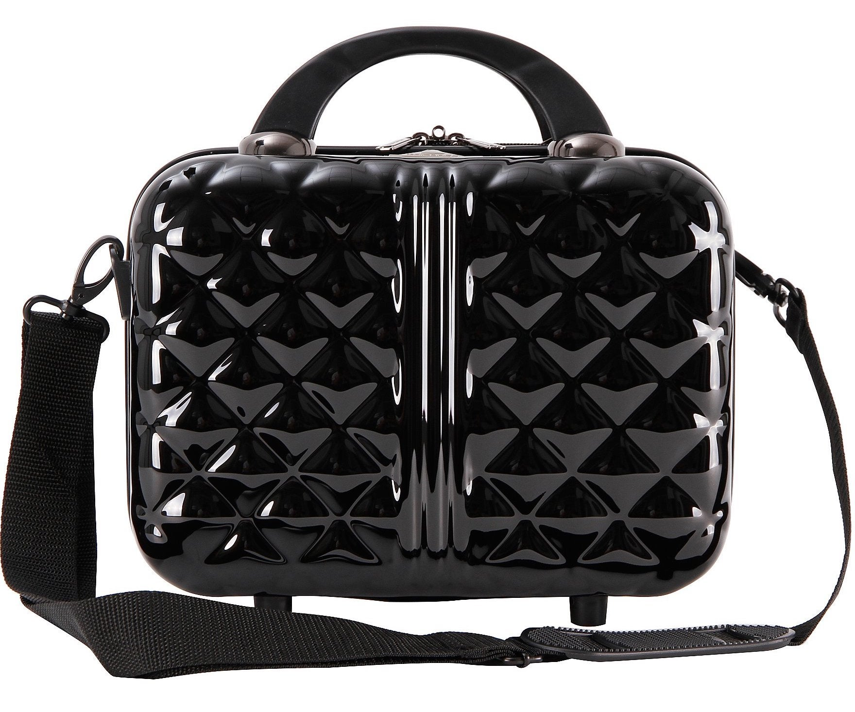 """Triforce Provence - Colección 12 """"Hardside Travel Beauty Colorblock Case"""