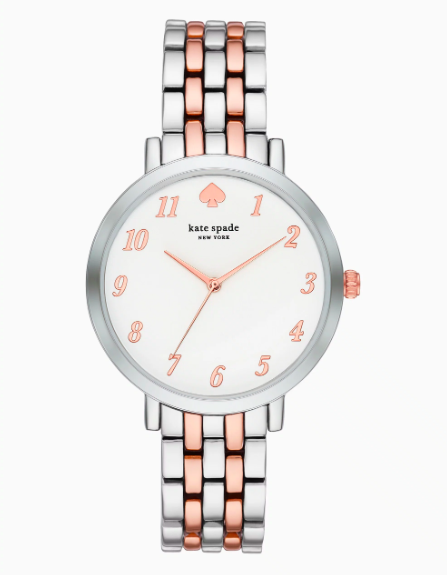 Kate Spade Nueva York Monterey Two Tone Watch