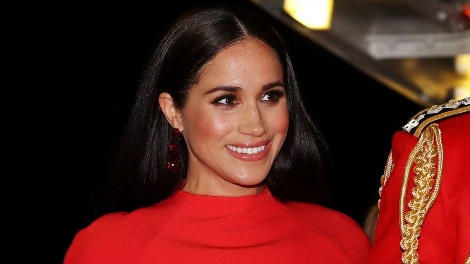 Meghan Markle en el Mountbatten Music Festival en el Royal Albert Hall de londres